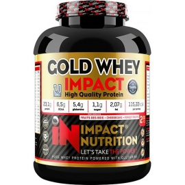 Gold Whey Impact 2.27kg | Impact Nutrition