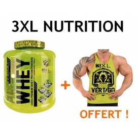 Pure Whey + Débardeur Vertigo - 3XL Nutrition