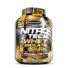 Nitro-Tech Whey+Isolate Gold - MuscleTech