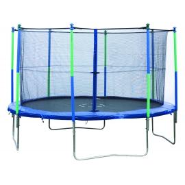 Pack Weider trampoline d'extérieur 3,60M + filet de protection