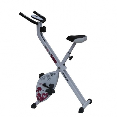 V lo d 39 appartement pliable weslo spazio bike pas cher nutriwellness - Velo d appartement cardio ...