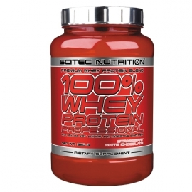 100% Whey Protein Professional Scitec Nutrition - 920g | Protéine whey Professional Scitec pas chère