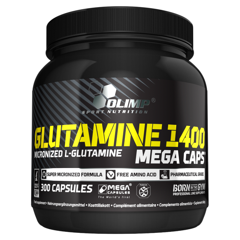 glutamine mega caps d 39 olimp sport nutrition pas cher nutriwellness. Black Bedroom Furniture Sets. Home Design Ideas