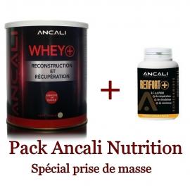 Pack Whey chocolat 750 gr + BCAA 120 gélules | Ancali