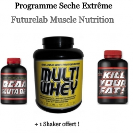 Programme Seche Extrême | Futurelab Muscle Nutrition