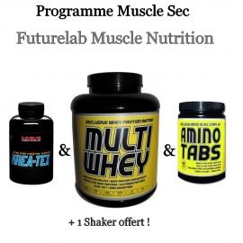 Programme Muscle Sec | Futurelab Muscle Nutrition