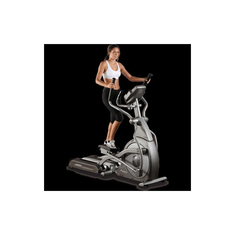 V lo lliptique pro ce800 de spirit fitness pas cher nutriwellness - Velo elliptique professionnel ...