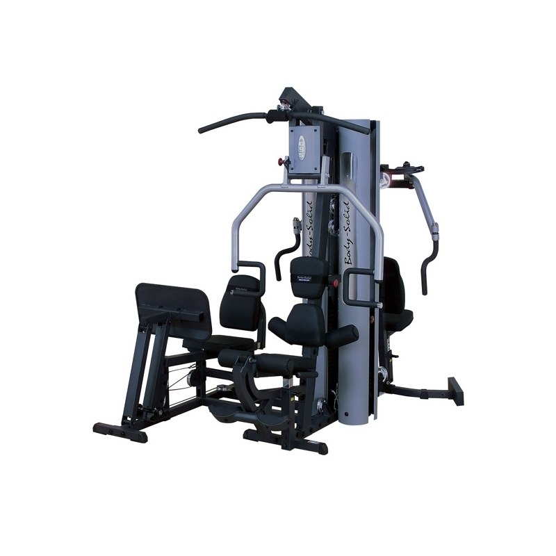 appareil de musculation multifonctions home gym duo g9s de body solid pas cher nutriwellness. Black Bedroom Furniture Sets. Home Design Ideas