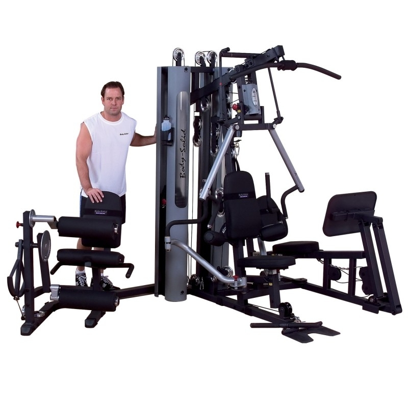 appareil de musculation multifonctions home gym bi angulaire de body solid pas cher nutriwellness. Black Bedroom Furniture Sets. Home Design Ideas