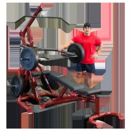 Corner Leverage Gym paquet GLGS100P4   Body-Solid