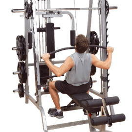 Extension Lat Pulldown Multi Power Smith Machine GS348 Série 7 | Body-Solid