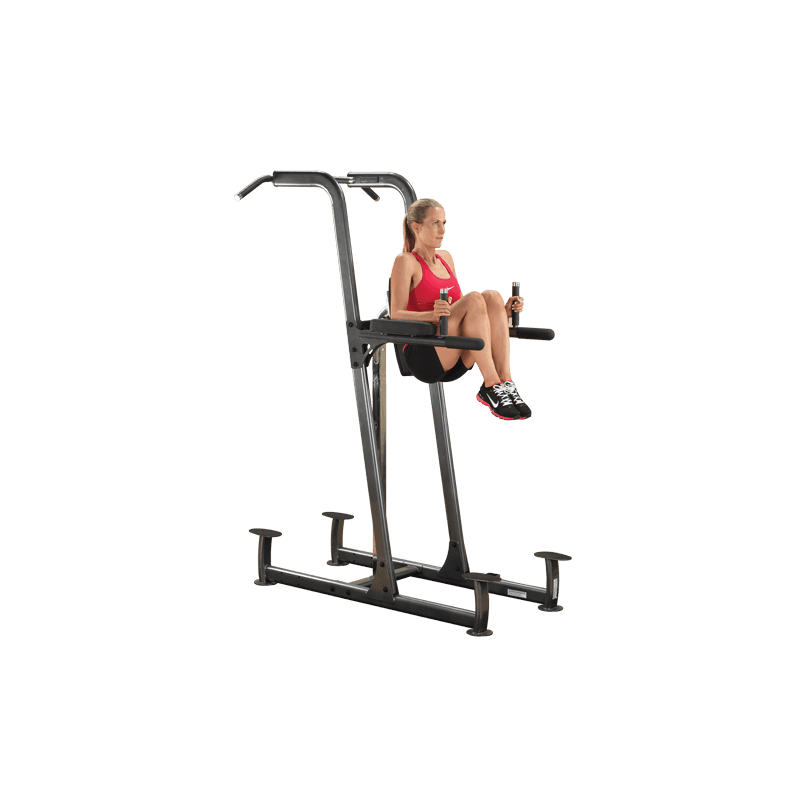 Chaise romaine dips abdos de body solid pas cher nutriwellness - Chaise romaine bodysolid ...