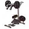 Poste squat et mollets charges manuelles | Body-Solid