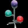 Rack 3 Medecine balls | Body-Solid