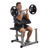 Powerline Banc à biceps home Preacher Curl | Body-Solid