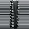 Set 20 Haltères chromées avec rack | Body-Solid