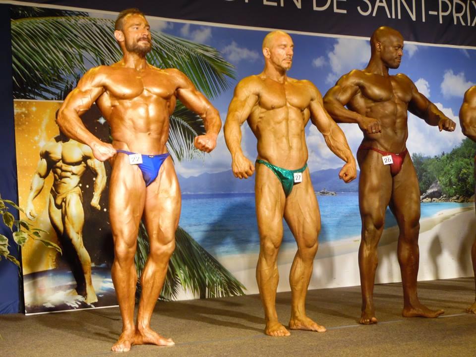 Posing de notre athlète Stéphane Jezequel à l'Open de Saint-Prix 2015