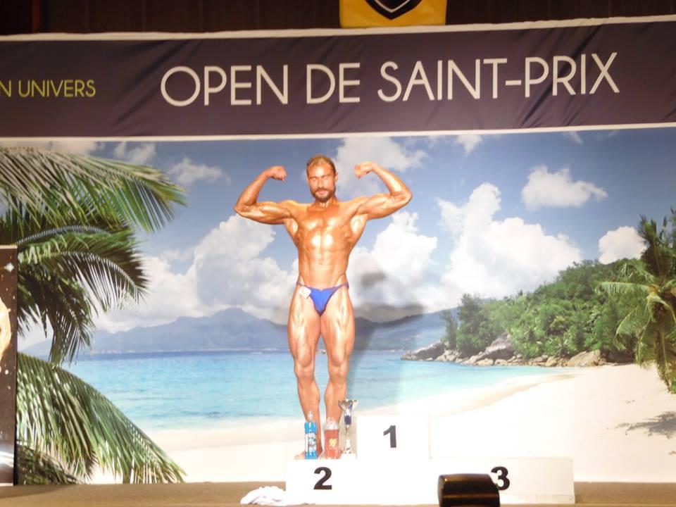 Open de Saint-Prix 2015 Stéphane Jezequel