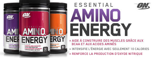 Amino Energy Optimum Nutrition en vente sur nutriwellness