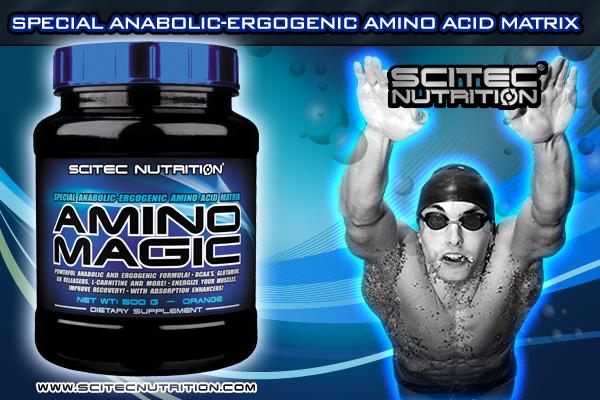 Informations Amino Magic de Scitec Nutrition