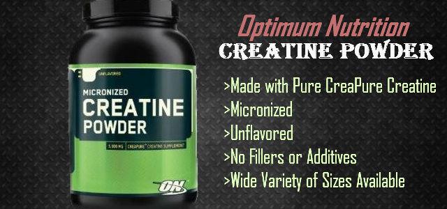 Micronized Creatine Powder d'Optimum Nutrition