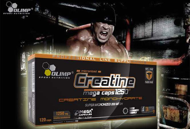 Creatine Mega Caps | Olimp Sport Nutrition