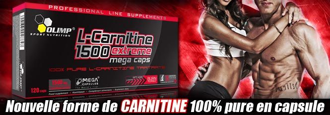 L-Carnitine 1500 Exteme Mega Caps | Olimp Sport Nutrition