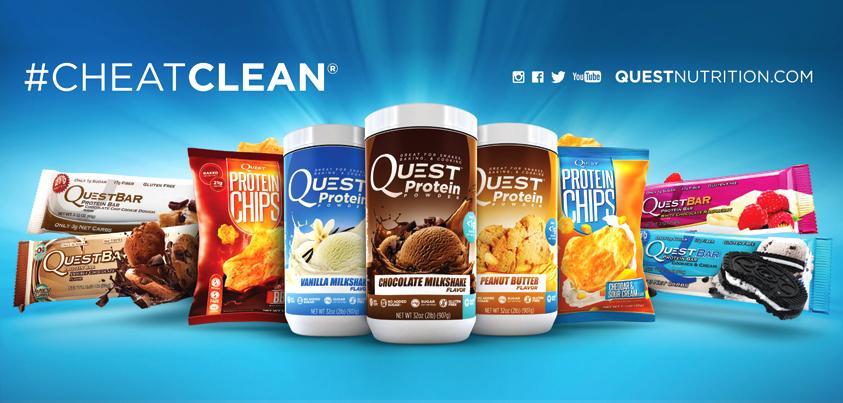 Vente Quest Nutrition pas cher sur nutriwellness.fr