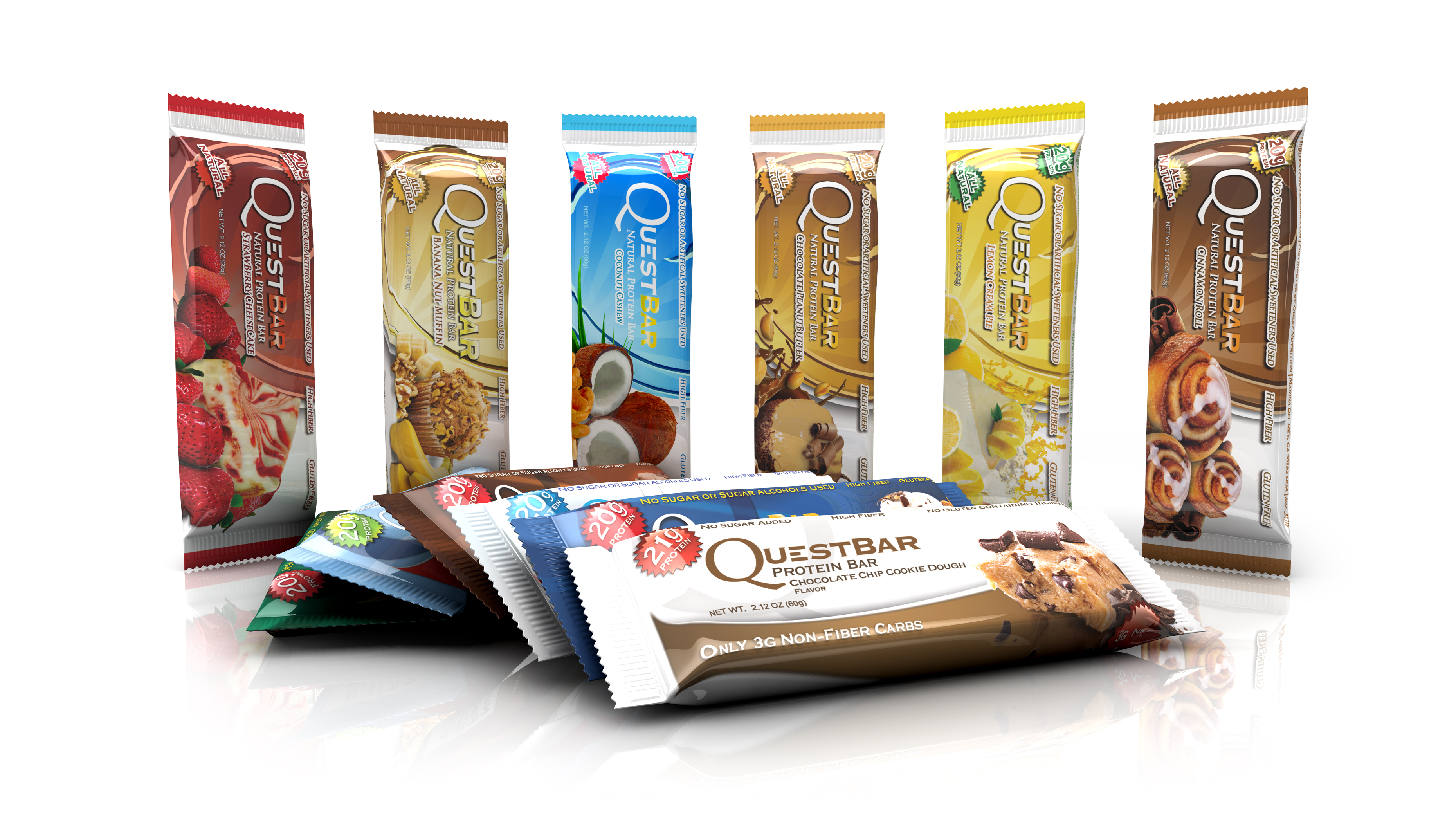Informations Quest Bars de Quest Nutrition