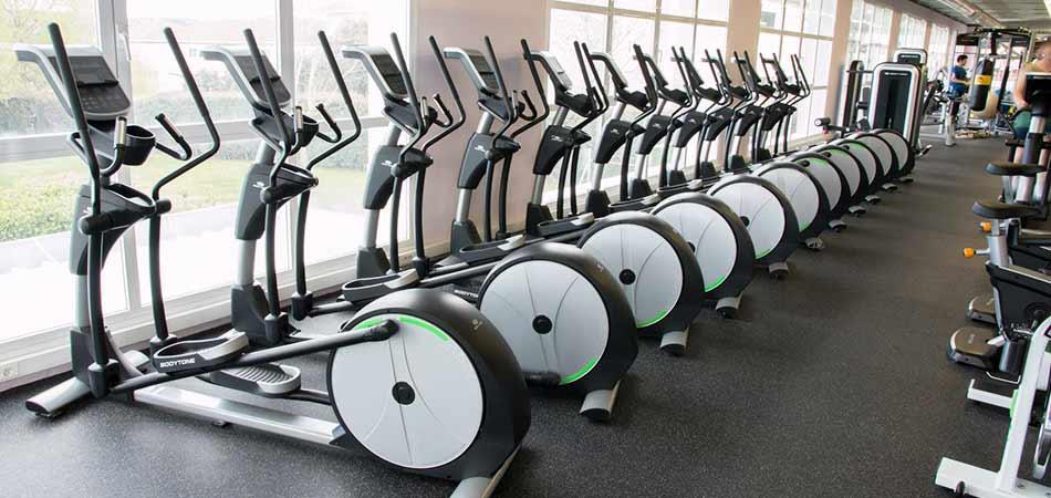 V lo elliptique nodux de bodytone pas cher nutriwellness - Velo couche salle de sport ...