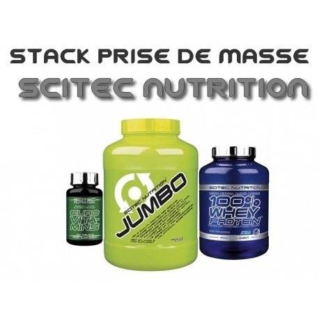 Stack Prise de Masse   Scitec Nutrition