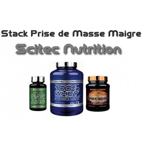 Stack Prise de Masse Maigre | Scitec Nutrition