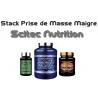 Stack Prise de Masse Maigre   Scitec Nutrition