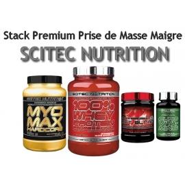 Stack Premium Prise de Masse Maigre   Scitec Nutrition