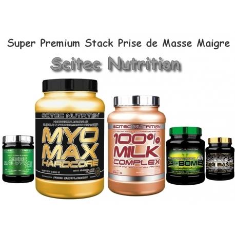 Super Premium Stack Prise de Masse Maigre | Scitec Nutrition