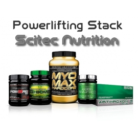 Powerlifting Stack | Scitec Nutrition