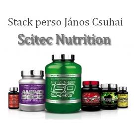 Stack perso János Csuhai | Scitec Nutrition