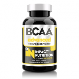 BCAA Advanced 120 capsules | Impact Nutrition