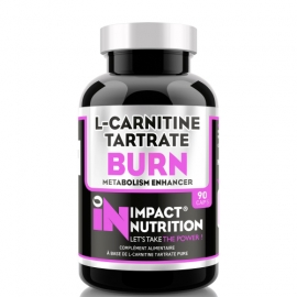 L-Carnitine Tartrate Burn 90 capsules | Impact Nutrition