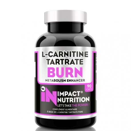 L-Carnitine Tartrate Burn 90 capsules | Impact Nutrition