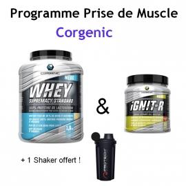 Programme Prise de Muscle | Corgenic