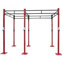 Cage Crossfit double | Système de station multi-fonctionnel
