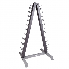 Rack 12 Pair Vertical Dumbbell | Body-Solid