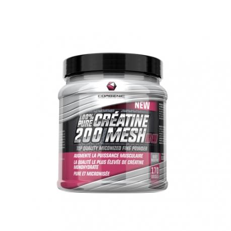100% Pure Creatine 200 Mesh | Corgenic