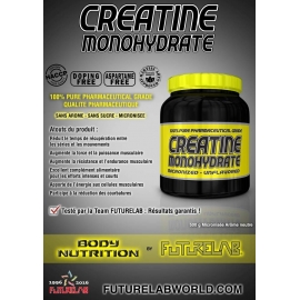 Créatine Monohydrate | Futurelab Muscle Nutrition