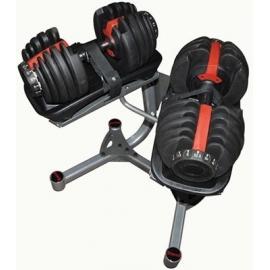 Haltères ajustables 2 - 24kg | Leaderfit Equipement