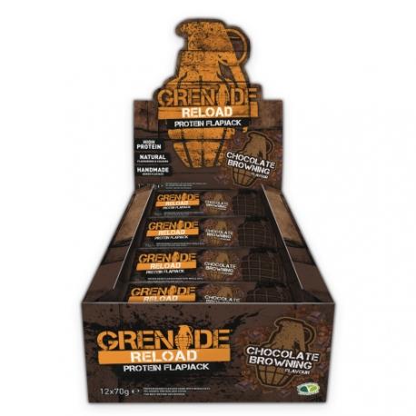 Reload Protein Flapjacks   Grenade