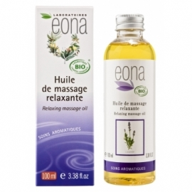 Huile de massage relaxante