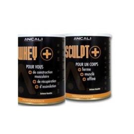 Pack Protéines : 1 boîte SCULPT + 1 boîte WHEY