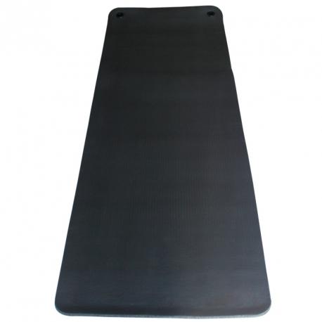Tapis de gym noir 180x0.8cm